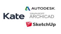 KATE SketchUp un dažādu CAD programmu lietotājiem