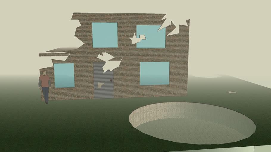 Bombed House      WW2
