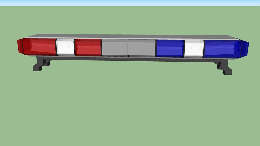 ct state police light bar