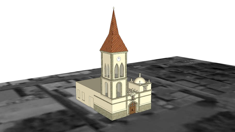 La Iglesia De Cd. Mier