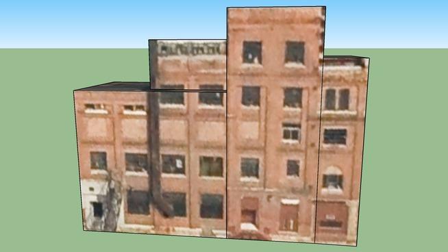 Gebäude in Detroit, Michigan, Vereinigte Staaten
