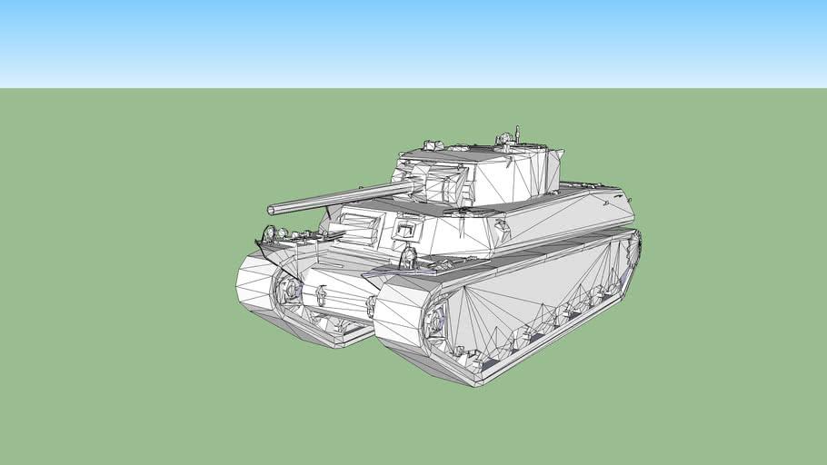 World of tanks T1 Heavy (Untextured)