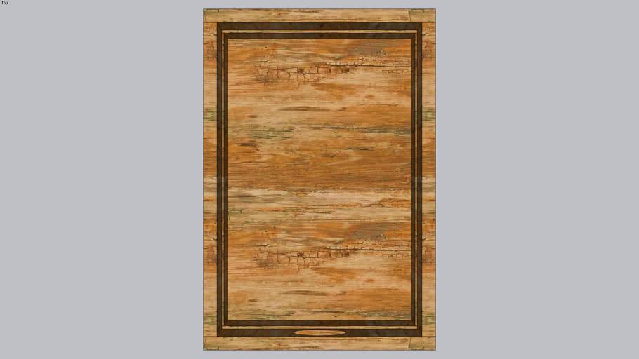Caixa de madeira Havaianas 3