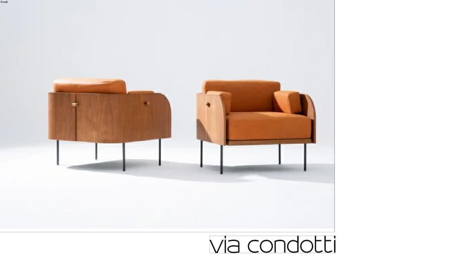 Poltrona Curva - Metro Arquitetos | +55 Design