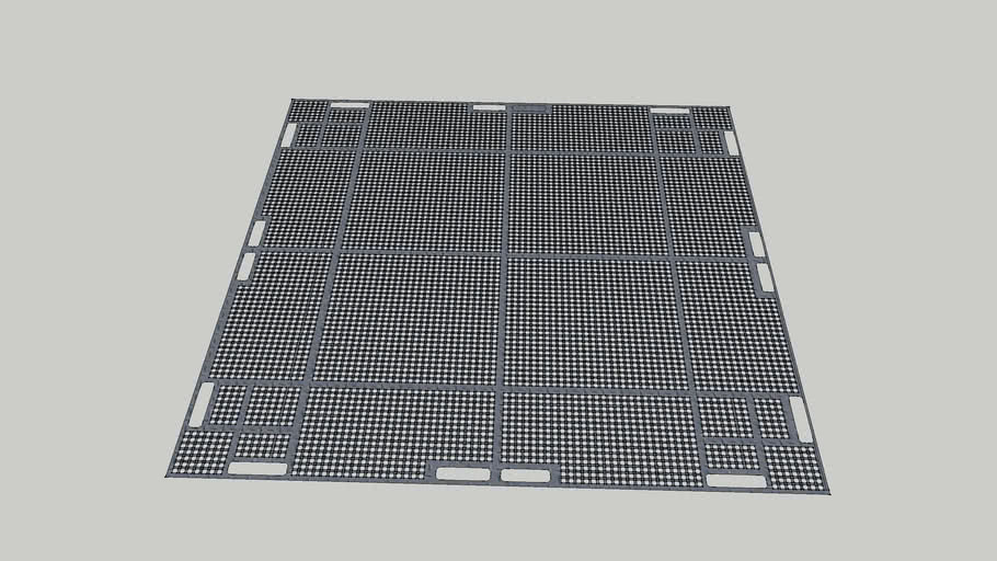 11x11 vented grid