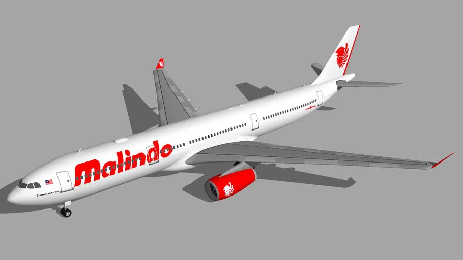 Malindo Air Airbus A330-300