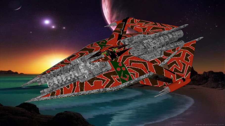 Narn G'quan Class Heavy Cruiser