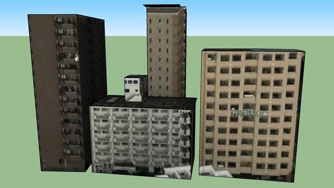 Строение по адресу Япония, Фукуока Chuo Ward