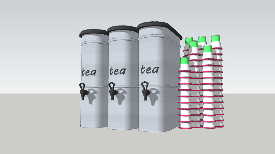 Green Tea Dispencer
