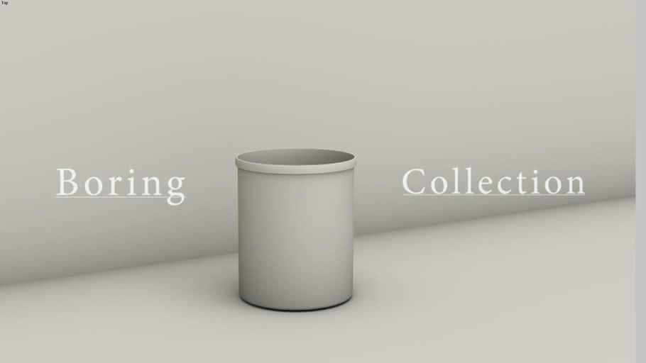 BORING Waste paper bin