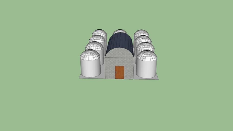 Power plant 1 magawatt