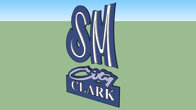 SM city CLARK logo
