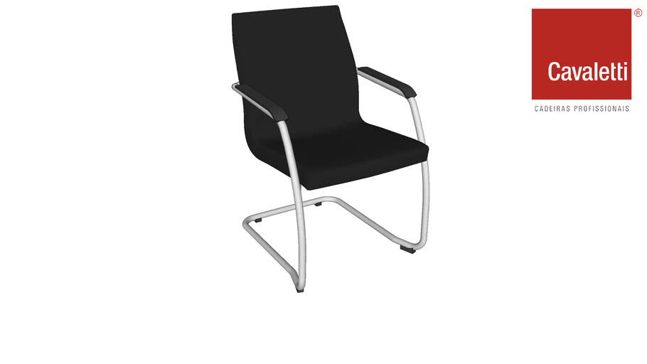 Cavaletti Slim - Poltrona Diretor Aproximação 18006 S