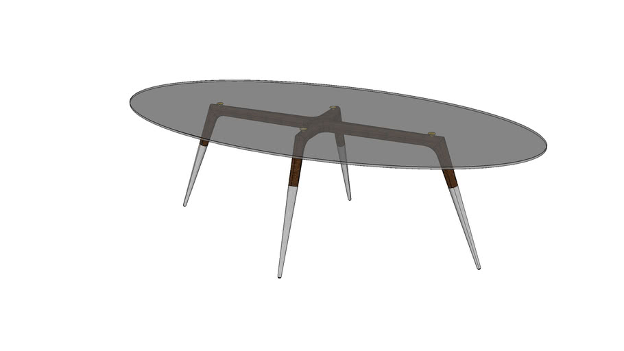 ASSEMBLY TABLE OVAL LARGE MKO153-O-L