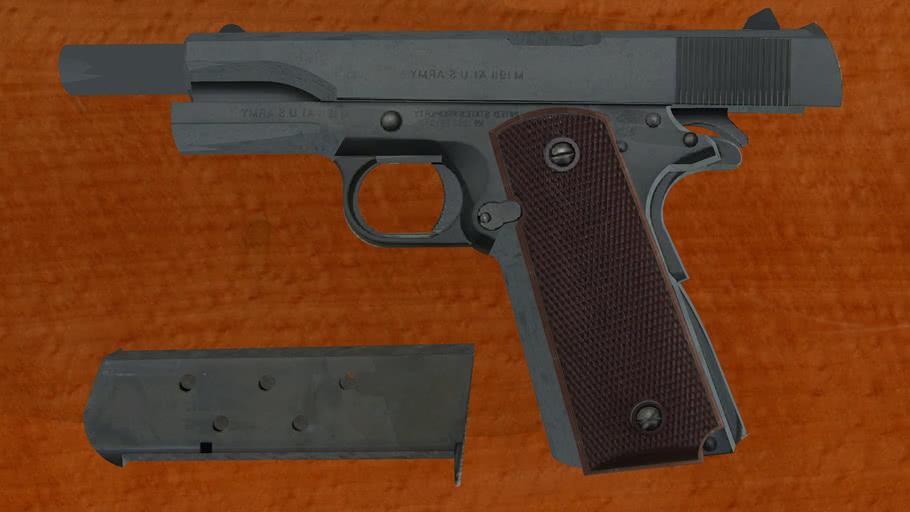 COLT M1911 UNLOADED PISTOL