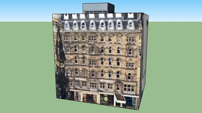 Gebäude in Edinburgh EH2 2AS, Vereinigtes Königreich