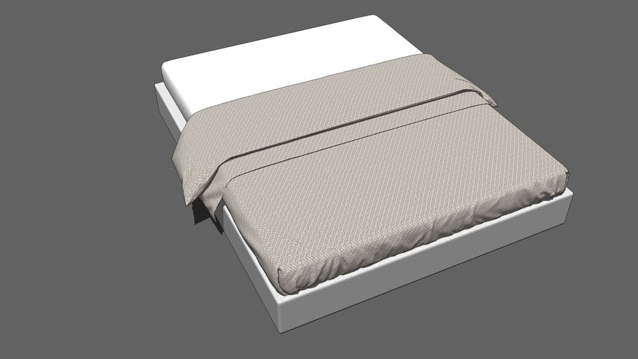Bed Sheet ( High Poly )