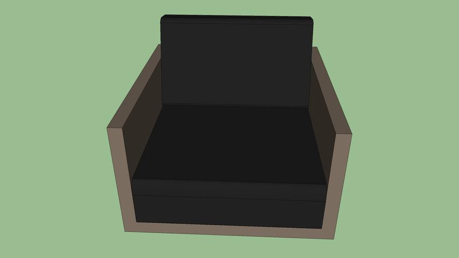 Mono Sofa 1 Seater (Deep Seating) Post Legs