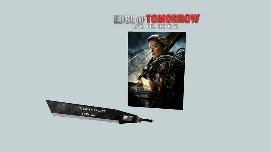 Rita's sword (Edge of Tomorrow)