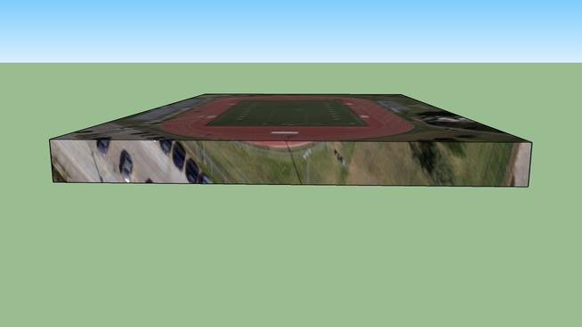 美国德克萨斯州休斯顿的建筑模型