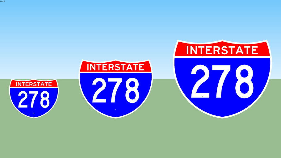 Interstate 278 Sign