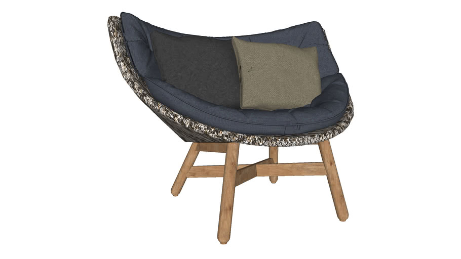Dedon - MBRACE Low Back Lounge Chair
