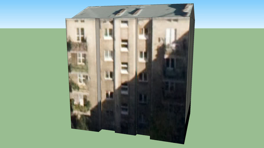 Budynek w Warszawie