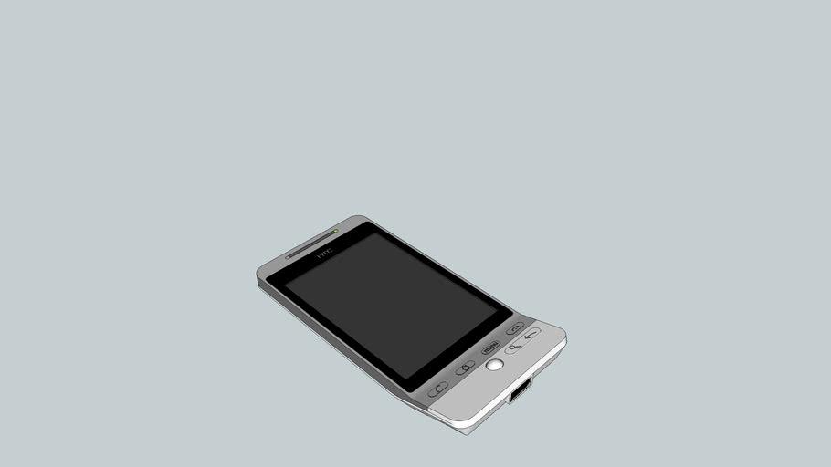HTC Hero White Anroid Phone