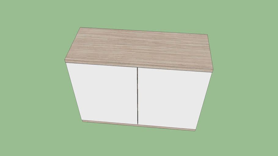 Cabinet 1000x400x750
