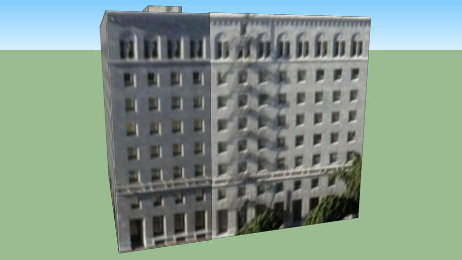 Los Angeles, Kaliforniya, Amerika Birleşik Devletleri adresindeki yapı