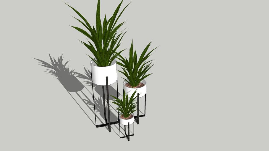 Pot vase moderne