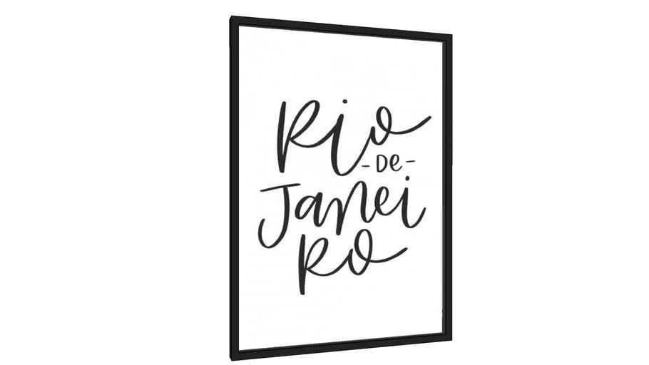 Quadro Rio de Janeiro - Galeria9, por Rachel Moya