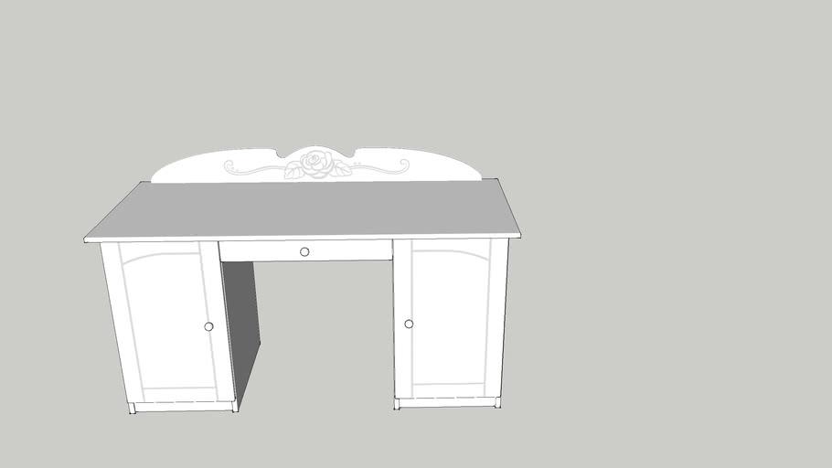 Desk 145 BIANCO FIORI