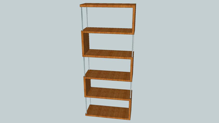 Homebase Geneva Shelf Unit