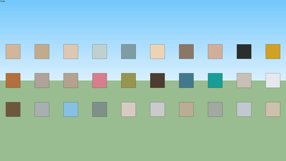 SW Paint Palette 34