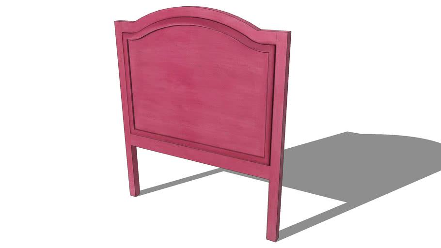 Tête de lit MARJOLAINE rouge, Maisons du monde. Réf: 130.947 Prix:
