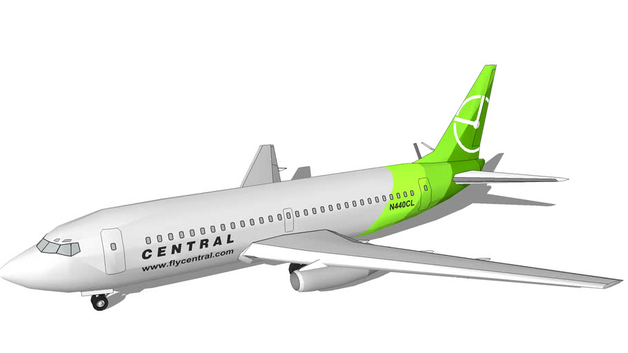 Central Air Lines (2005 [Fictional]) - Boeing 737-239