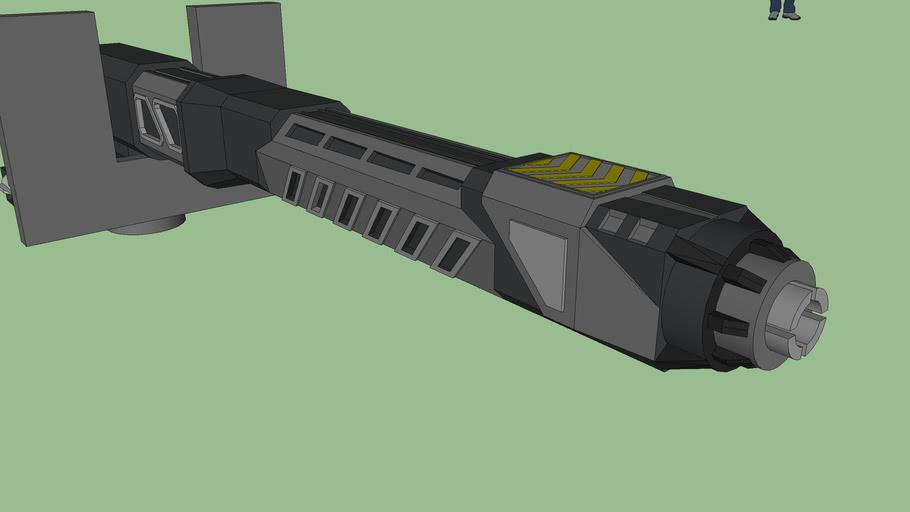 Rail Gauß Gun X-001 Alexandra