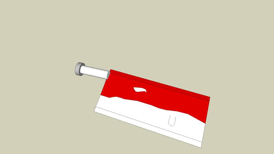 kichen knife with blood