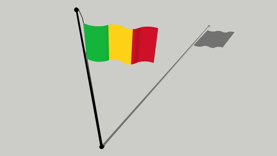 Flag of Mali - Drapeau du Mali