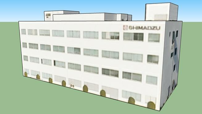 島津製作所 三条工場の一部