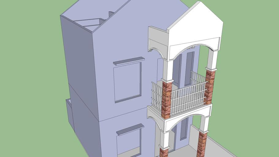 Rumah Dua Lantai Minimalis