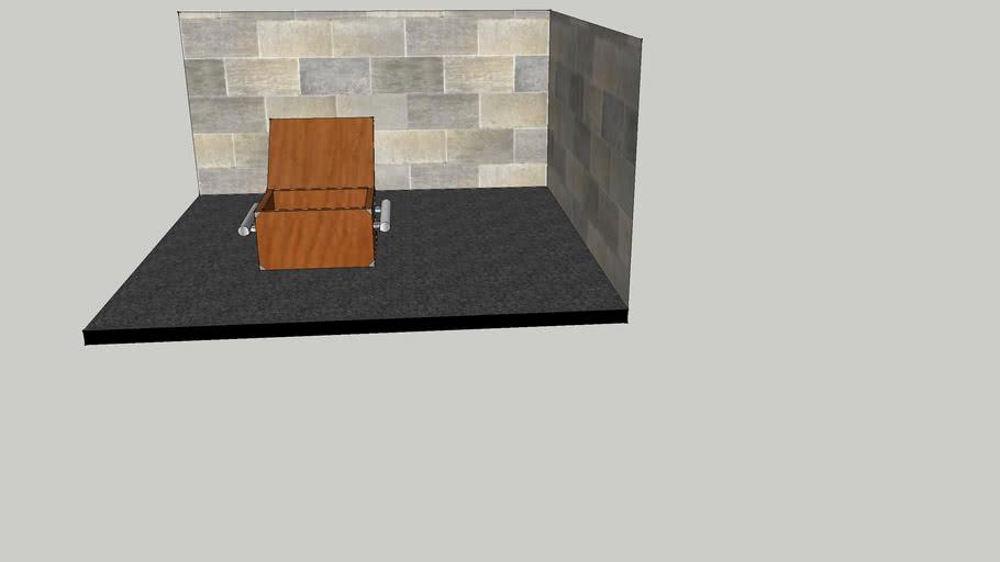 houten koffer