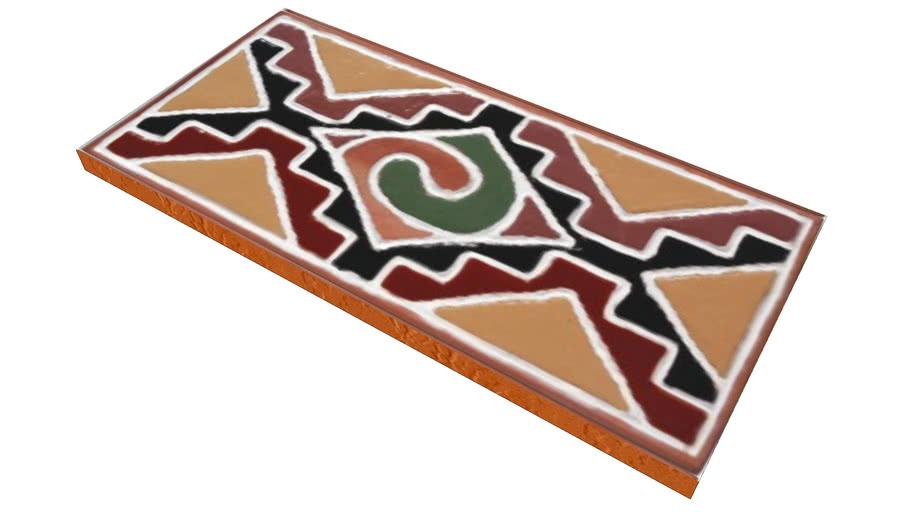 Cerâmica Fênix - KADIWÉU - Fascia KadiwéuLKFX11524-1
