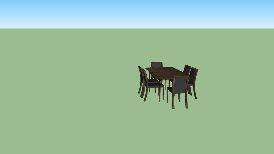 recolored dining set