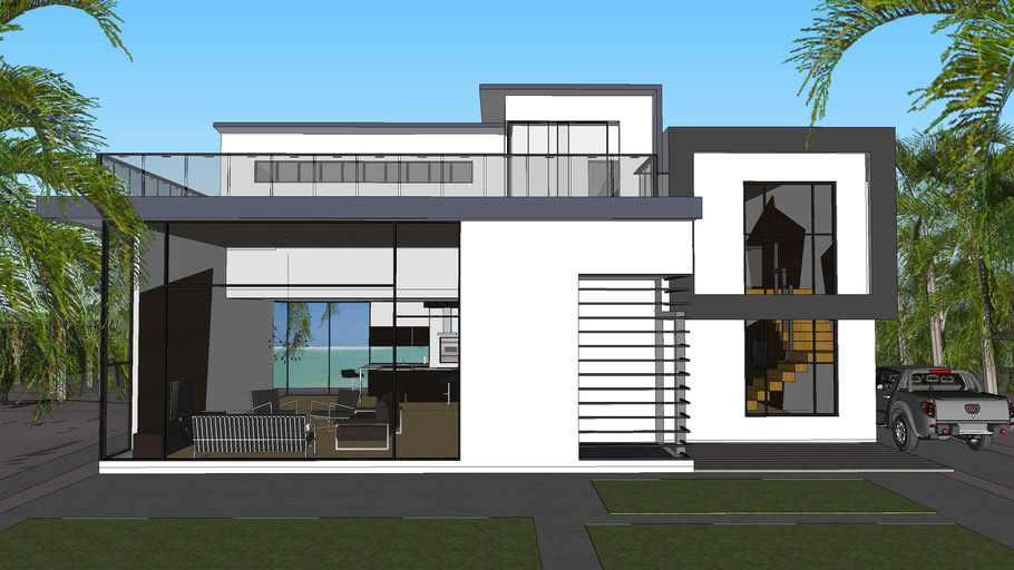 Modern House Design 3d Warehouse