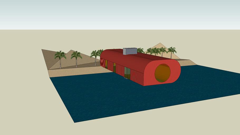 Sonderson's Bar in the Beach - Cape Verde - Morento Project
