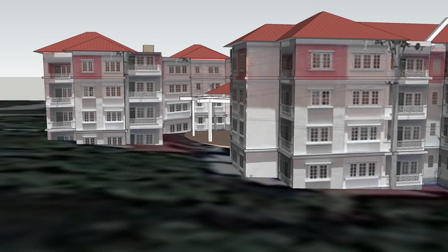 Government Housing - Red - Waziyar Street 3