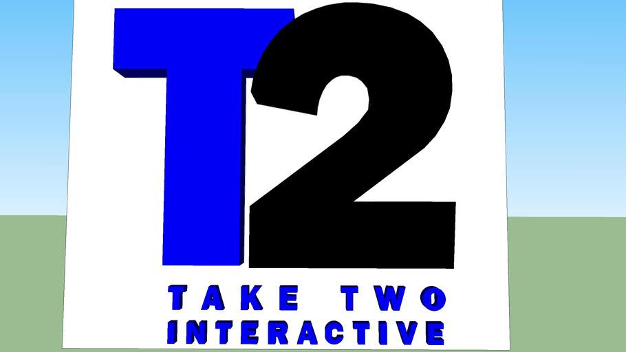3D Take Two Interactive Logo