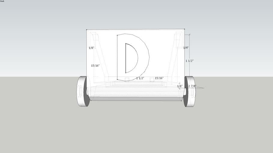 Arcrylic Chariot